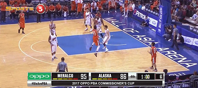 Meralco def. Alaska, 99-91 (REPLAY VIDEO) April 8