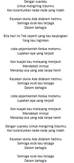 Lirik Lagu Gita Gutawa Dengar