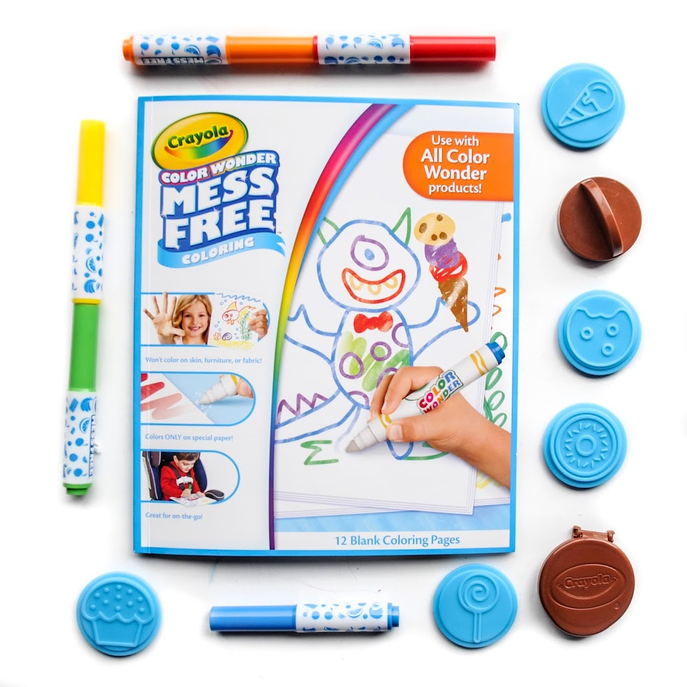 Review: Crayola Color Wonder Scented Stampers and Markers ...
