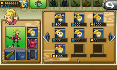Cheat Ninja Saga NEW Update Mod 100% Work unlimited all Money, Token Etc Android Apk