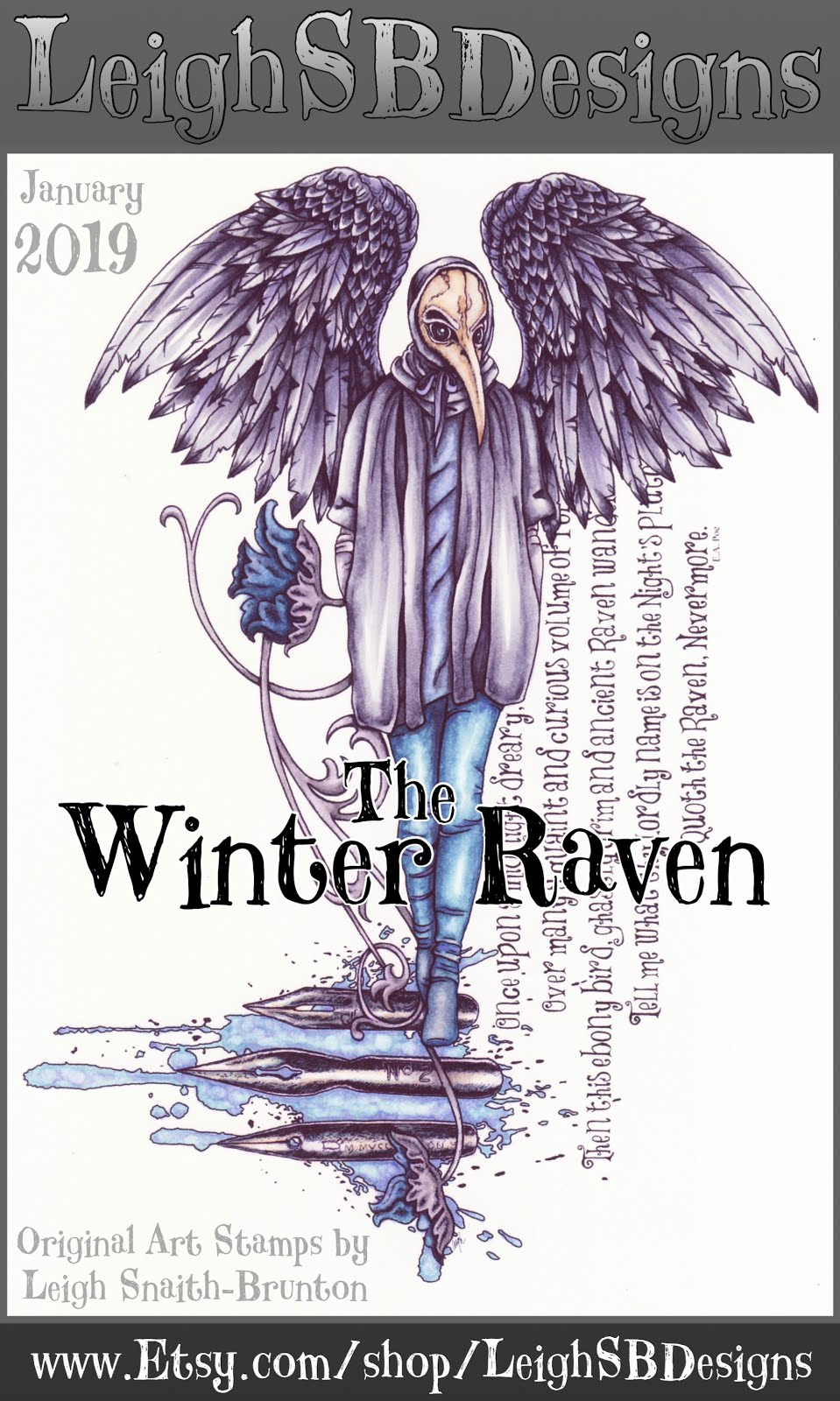 The Winter Raven!