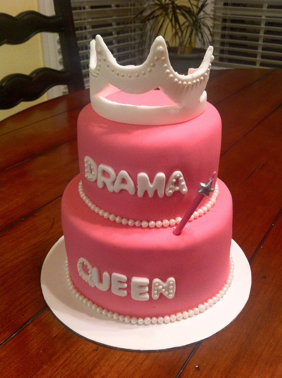 52 Weeks Of Sweets Week 32 Drama Queen Cake