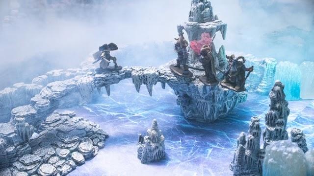 Caverns Deep Kickstarter. Amazing Terrain