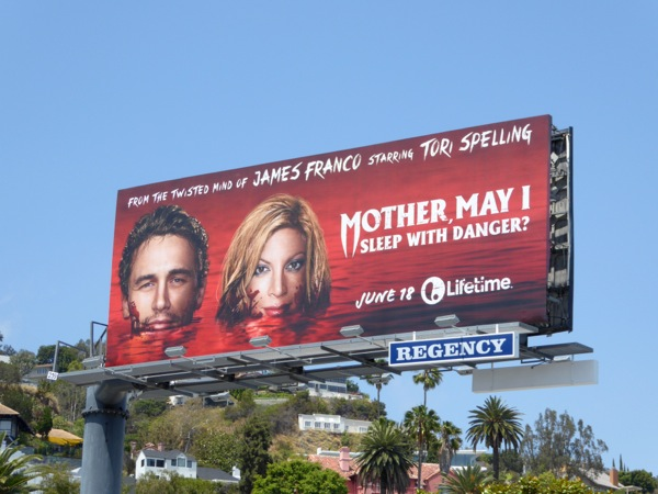 Mother May I sleep with danger Lifetime movie billboard