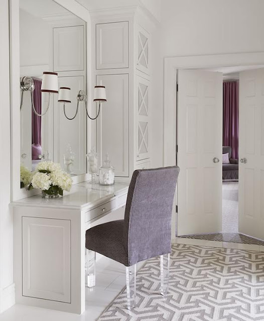 Gray Bathrooms With Accent Color: South Shore Decorating Blog: 20 Gorgeous Bathroom Vanities