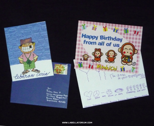 Kartu Ucapan Lebaran dan Ulang Tahun - Blast From The Past - Postal Stuffs Filateli