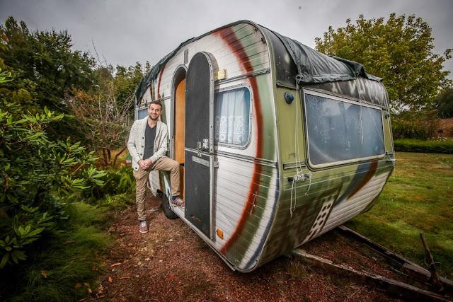 caravan voor daklozen Limburgse jongeren om opvang te bieden