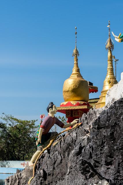 Bayin-Nyi Cave - Région de Hpa An - Myanmar Birmanie