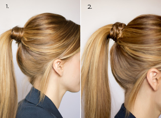 Party Ready Fancy Ponytail Hairstyle