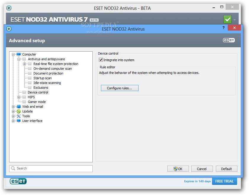 ESET NOD32 antivirus 7 2014 free download full version