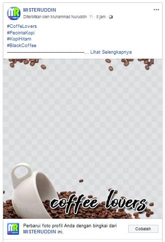 Cara Menambahkan Bingkai ke Profil Halaman Facebook 19