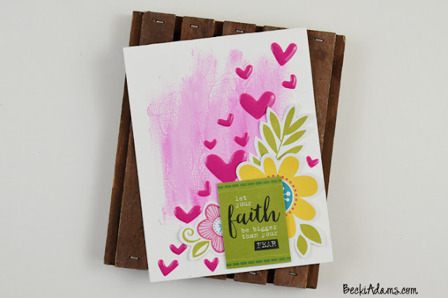Created by Becki Adams for @bellablvd and @illustratedfaith #WCMD #cardmaking #handmadecard #papercrafting