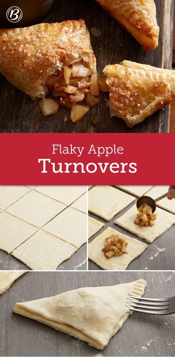 Flaky Apple Turnovers