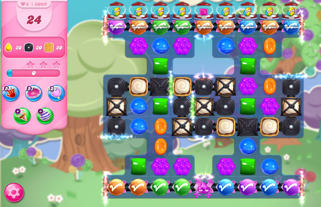 Candy Crush Saga level 6089
