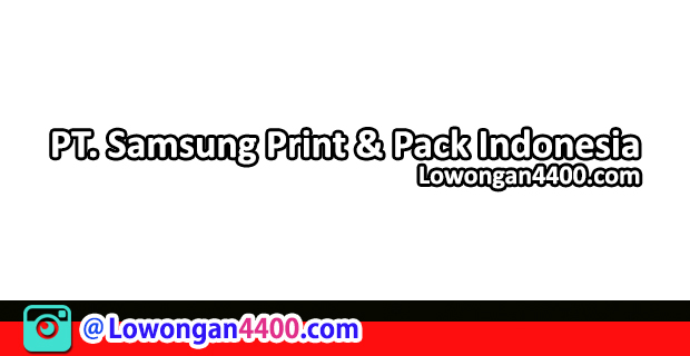 PT. Samsung Print & Pack Indonesia