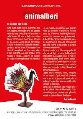 Animalberi a Cereseto - Volantino