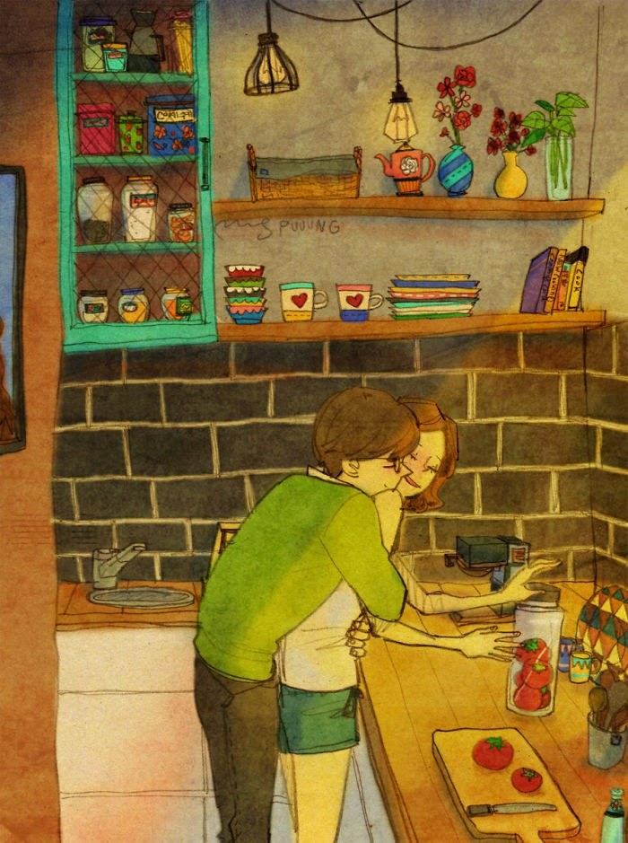 Korean Artist Beautifully Captures What Real Love Truly Looks Like