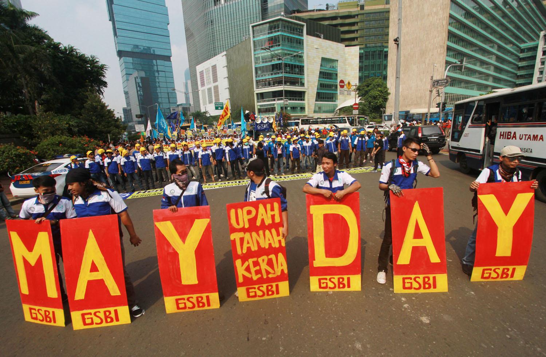 Jelang May Day Poltabes Medan Menyiagakan 1.200 Personel