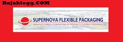Lowongan Kerja Operator Produksi PT Supernova Flexible Packaging, Cikarang