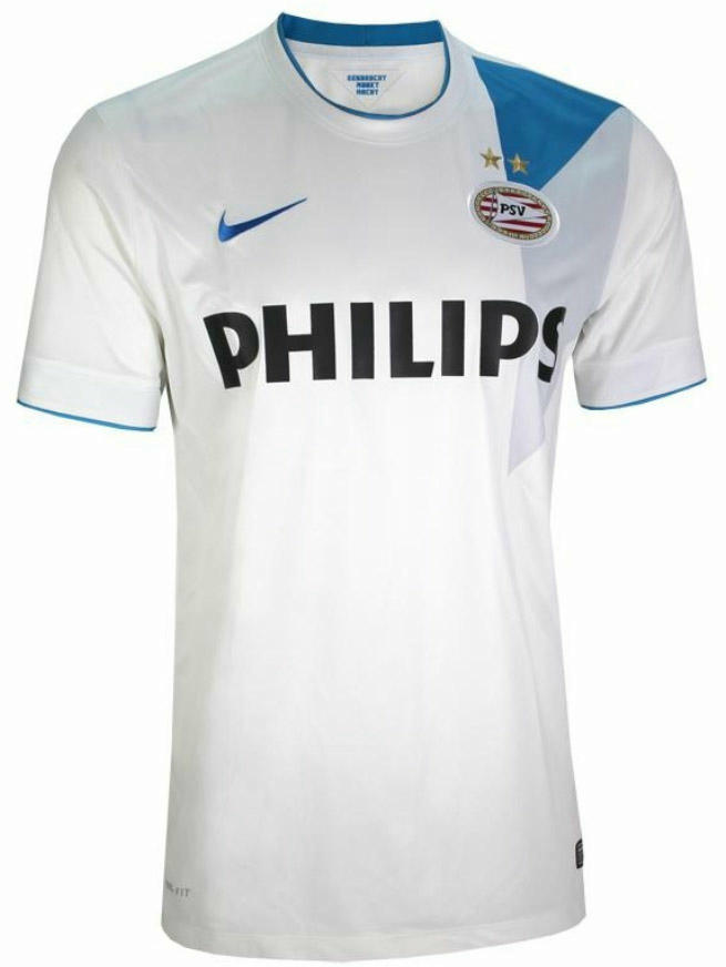 New PSV 14-15 Home, Away And Third Kits Released