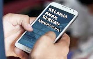 Belanja online aman lewat smartphone