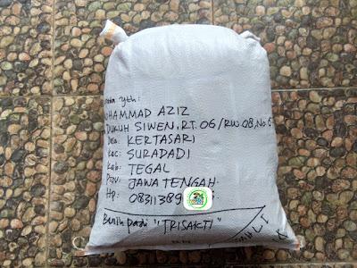 Benih pesana    MOHAMMAD AZIZ Tegal, Jateng.   (Sesudah Packing)