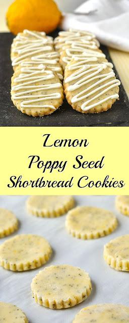 Lemon Poppy Seed Shortbread Cookíes