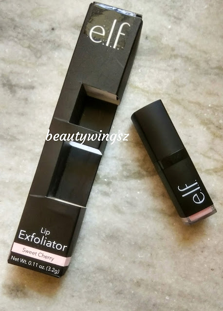 ELF Lip Exfoliator Sweet Cherry Review