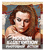 \  - modillus - Concept Mix Photoshop Action