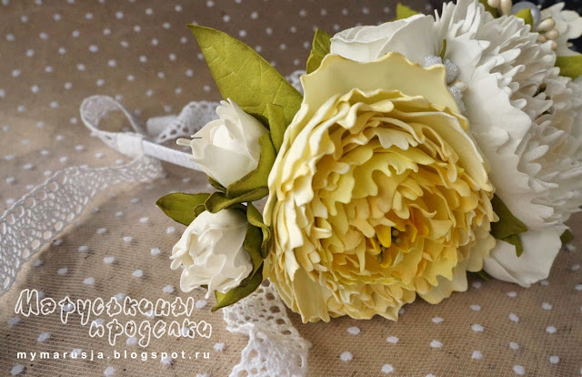 цветы для свадебной прически