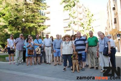 Como cada año y por estas fechas un grupo personas relacionadas con el mundo judío-sefardí se acercan a Zamoraa para realizar rutas por Zamora y provincia para rememorar los espacios en los que sus antepasados vivieron en la ciudad y en la provincia.