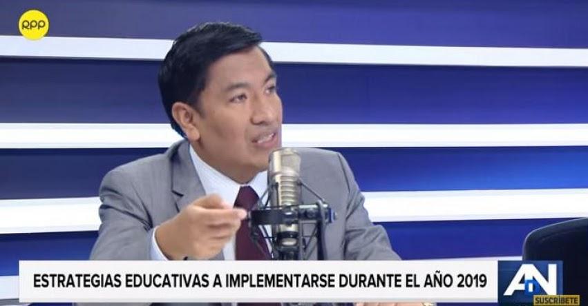 Las experiencias innovadoras deben salir de las aulas y ser replicadas, sostiene Juan Cadillo, Presidente del FONDEP - www.fondep.gob.pe
