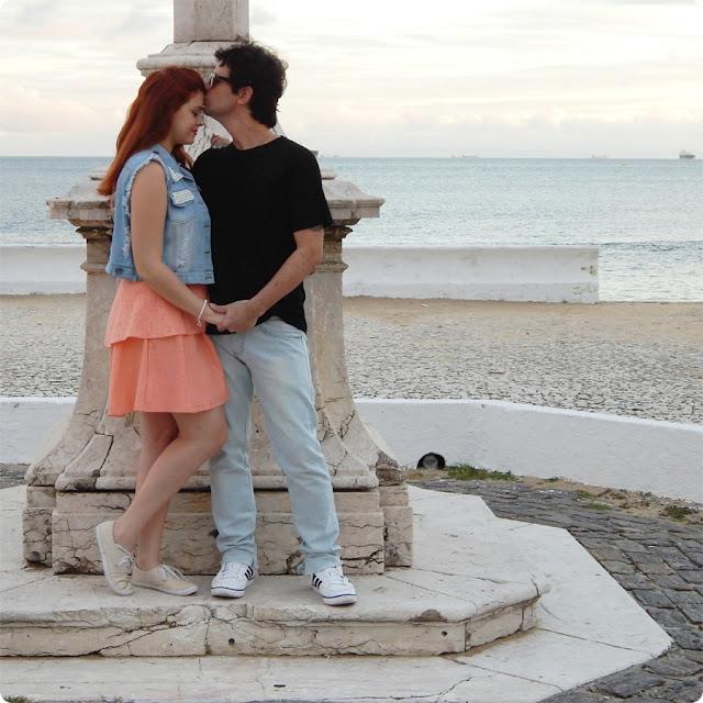 fotos pré casamento praia