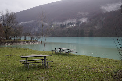 Lake of Barcis Lago di Barcis Italy