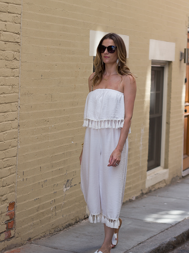 Affordable White Jumpsuit #jumpsuit