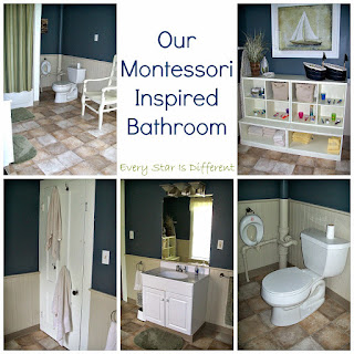 Our Montessori-inspired Bathroom
