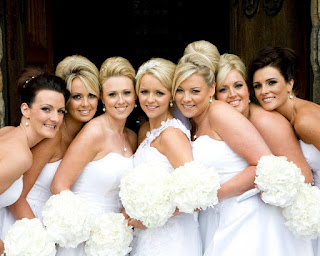 Bridal Hairstyles on the wedding party