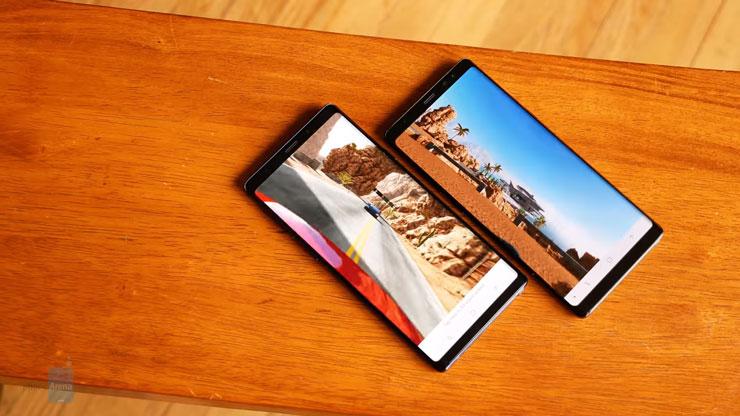 مقارنة شاملة بين جالكسي Note 9 ضد الايفون Xs Max