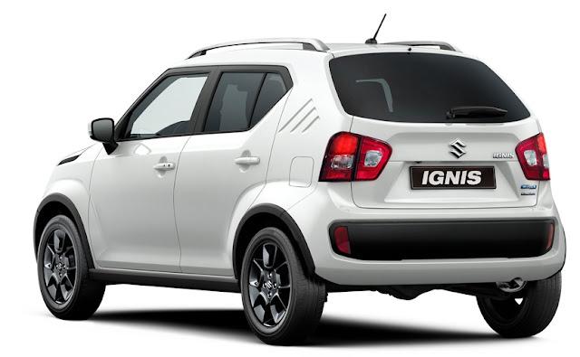 Spesifikasi Suzuki Ignis
