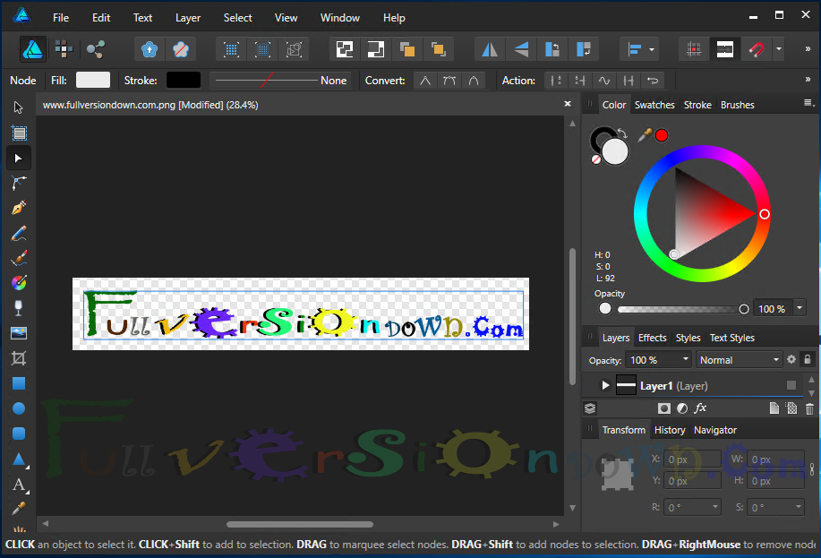 Affinity Designer 1.5.2.58 For Windows [Portable]