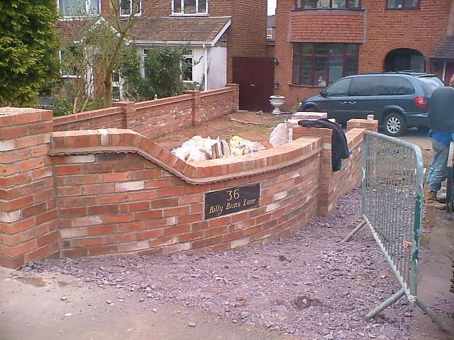 Beau Brick Garden Wall Design Ideas