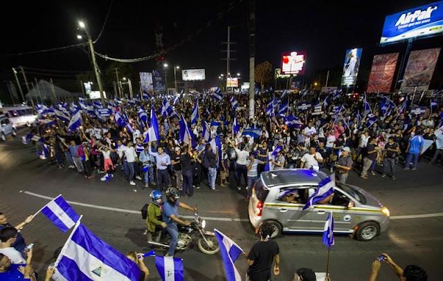 Suben a 42 los muertos en protestas de Nicaragua y hay desplazamiento forzado