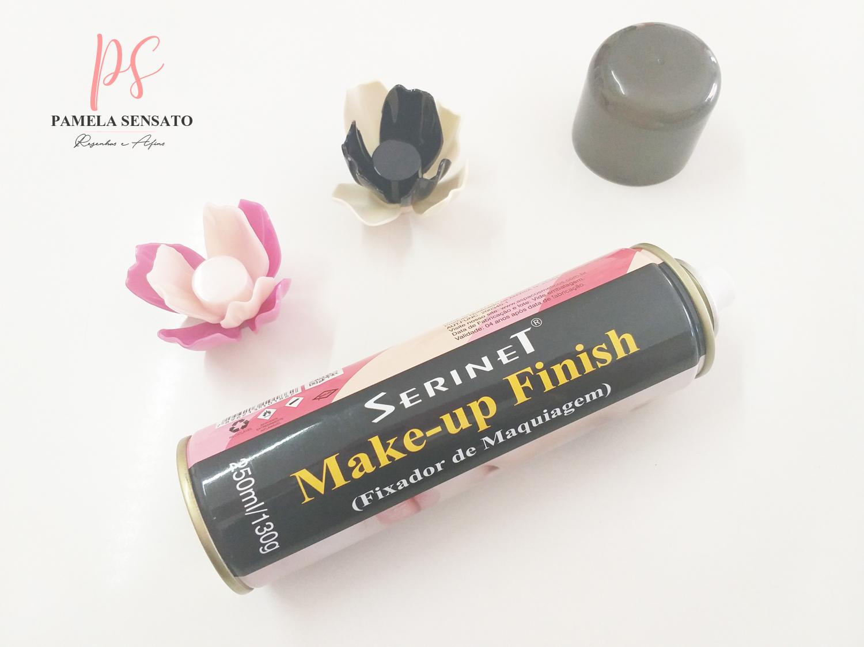 Resenha: Fixador de Maquiagem Serinet