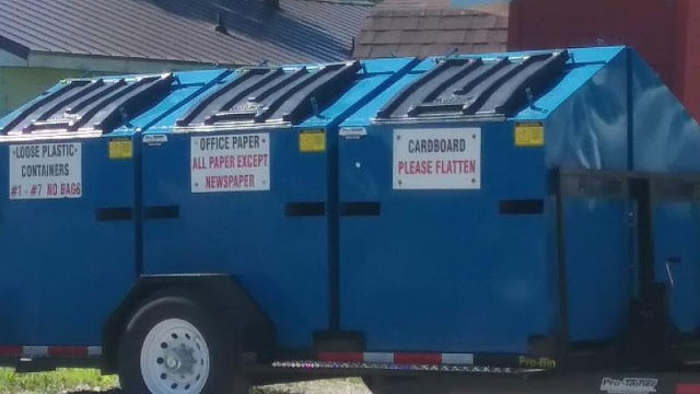 Where does the garbage go?, Metamora Herald