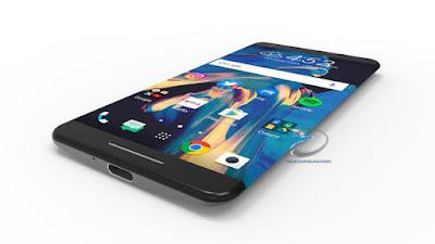 Layar HTC 11 Melengkung