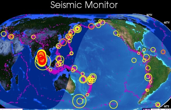 5 Major Earthquakes In 48 Hours As Seismologists Warn 'Catastrophic Mega Earthquakes' Are Coming