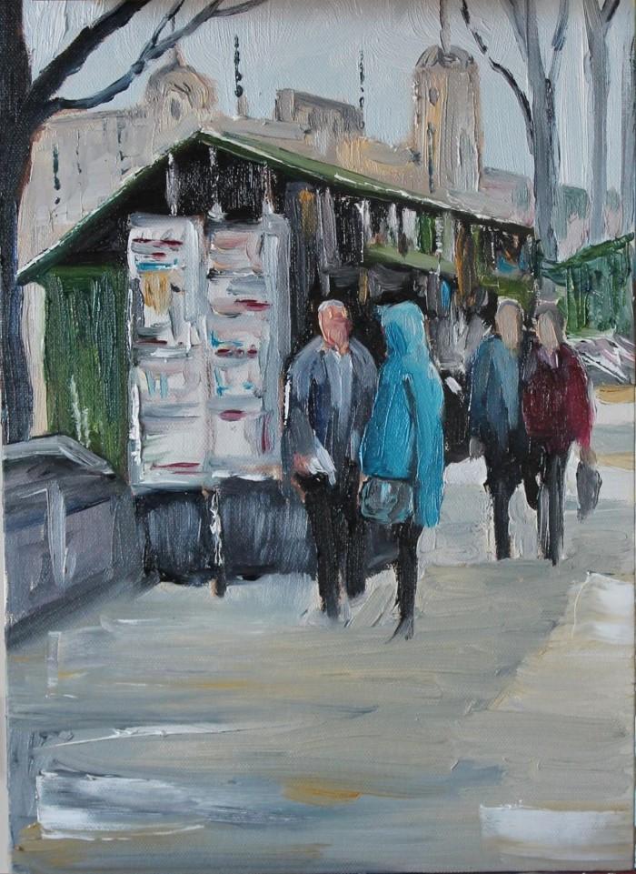 Британский художник. John Halliday 18