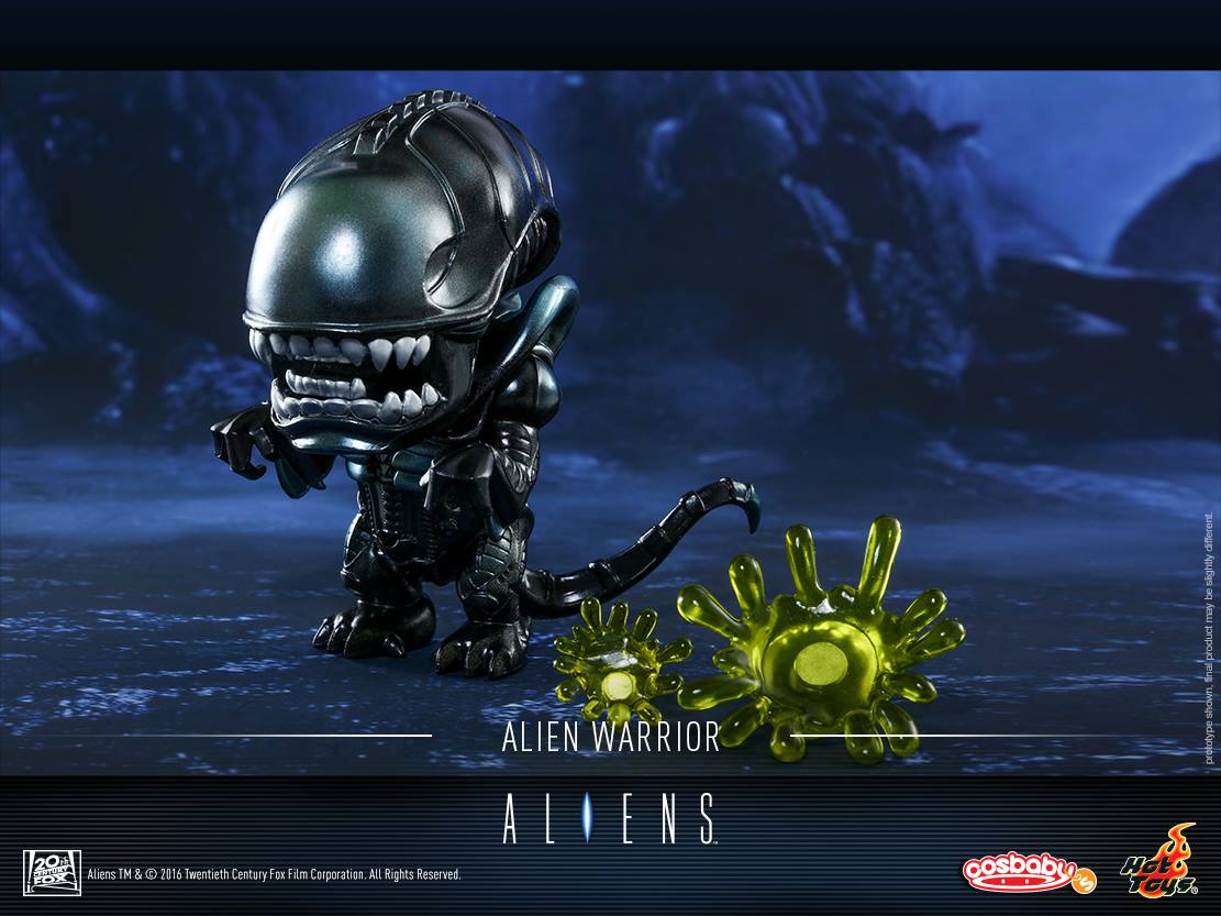 The Blot Says Aliens Cosbaby Vinyl Mini Figures By Hot