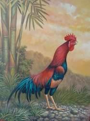Ayam Berkokok Di Malam Hari : berkokok, malam, Media, Belajarku:, Kokok, Jantan