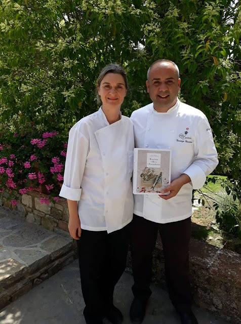 Cláudia Silva Mataloto e o Chef Vincenzo Guarino